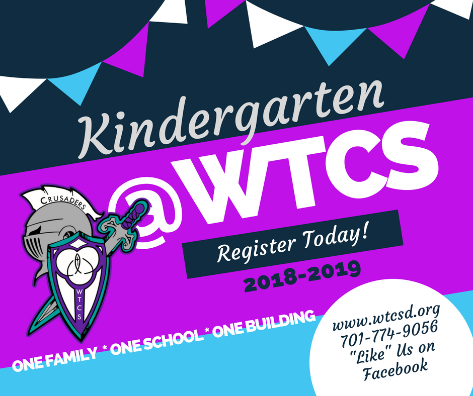 WTCS Kindergarten Register Today
